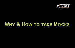 how to take mocks