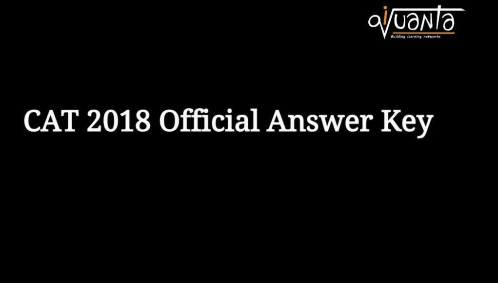 cat 2018 slot 1 2 answer