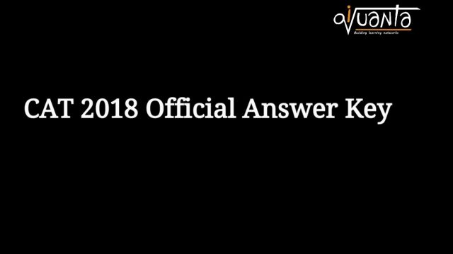 cat 2018 slot 1 2 answer