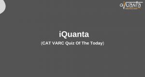 CAT VARC PRACTICE 2