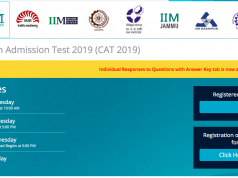 cat 2019 answer key