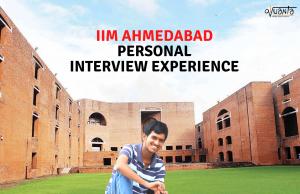 iim ahmedabad interview experience